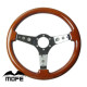 Hot quality 350mm classic wood steering wheel used car