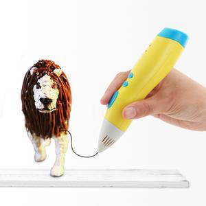 Magic 3d wax toy pen for kids