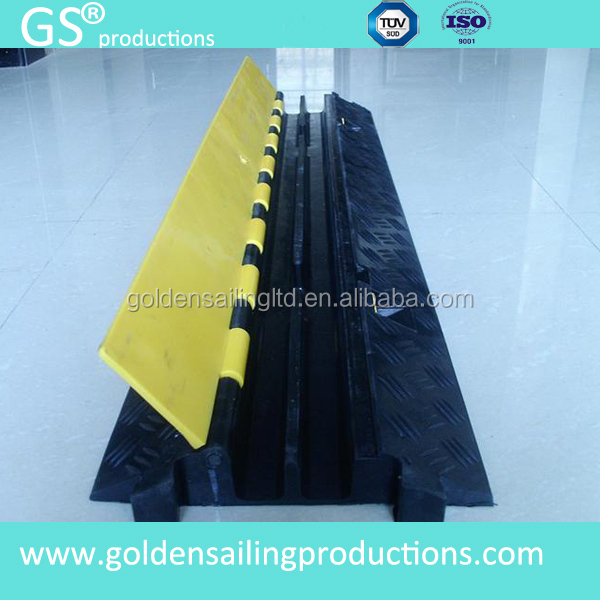 car speed ramp/ cable rubber car loading ramp