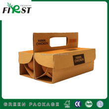 cheap egg blister packing paper boxes and egg cartons with handle