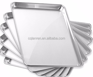 Aluminium baking tray sheet pan for bread and cookie