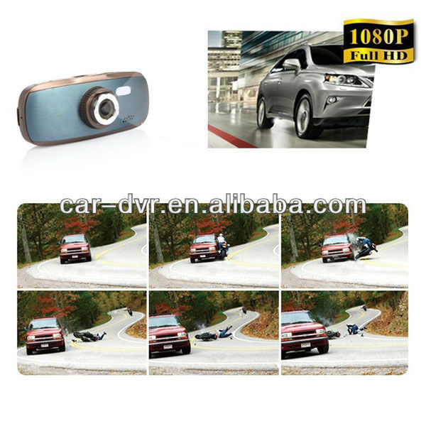 HOT! NEW! FULL HD 1080P car DVR ,whith GPS,G-sensor,HDIM,H.264