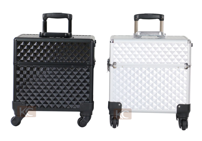 Professional Hair Organizer For Barbers Hairdressing Tool Bags On Wheels Luggages Hairdresser Aluminium