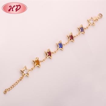 Gold Plated 24 Carat Womens Fashion Bracelets