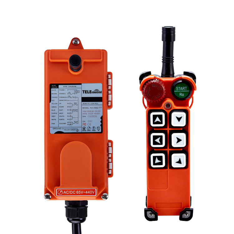 New product f21-e1 telecrane wireless remote control for cranes фото