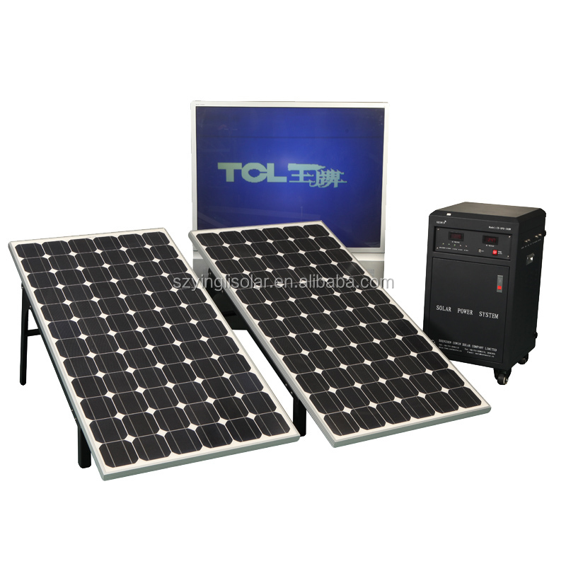 800Watt solar electricity generating system for home