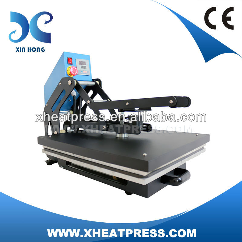Digital Manual Semi-automatic Cloth Dyeing Machine Cloth Sublimation Stein Steam Press