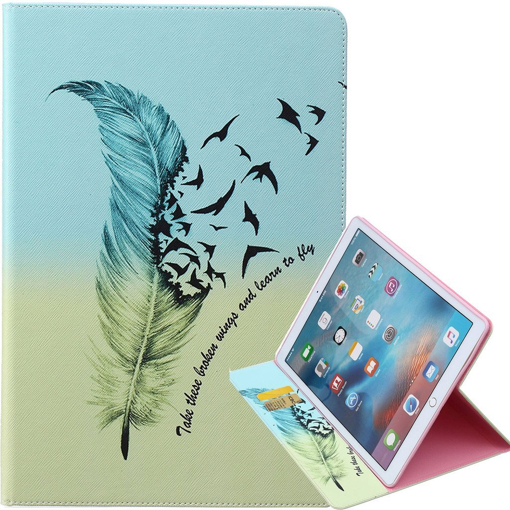 "iPad Pro 12.9"" Leather,[iPad Pro 12.9""],for iPad Pro 12.9"" Cover,Yuncase flip Stand Case Book Style Cover for iPad Pro 12.9"""