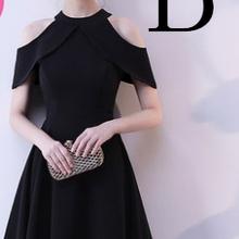 robe de mariage womens cheap classy 2019 short knee length semi formal black  homecoming dresses size f6859146c