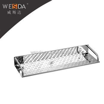 Wesda Bathroom Accessories. Stainless Steel Wall Mounted Shower Shelf /  Storage Basket For Cosmetic 822