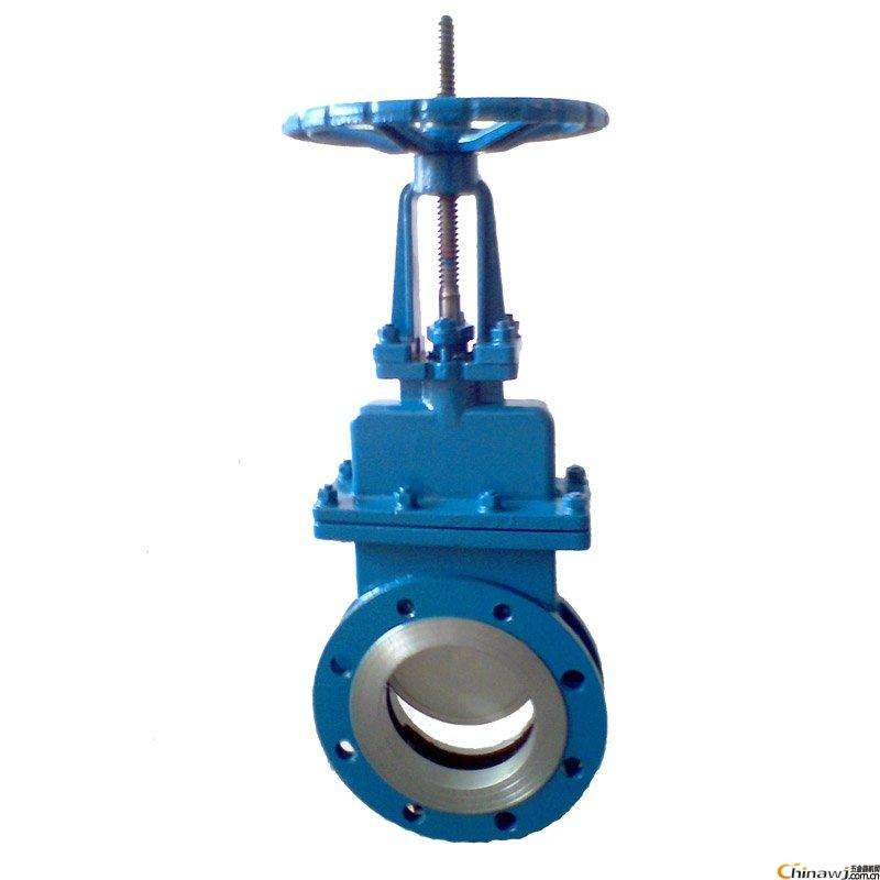 Manual or Pneumatic Operated WCB Fiber Pulp Wafer Handwheel Knife Gate Valve with prices