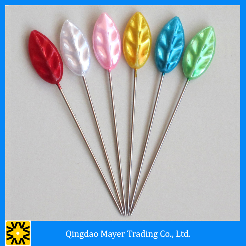 China Qingdao Supplier Product Metal Big Head Fancy Hijab Pins