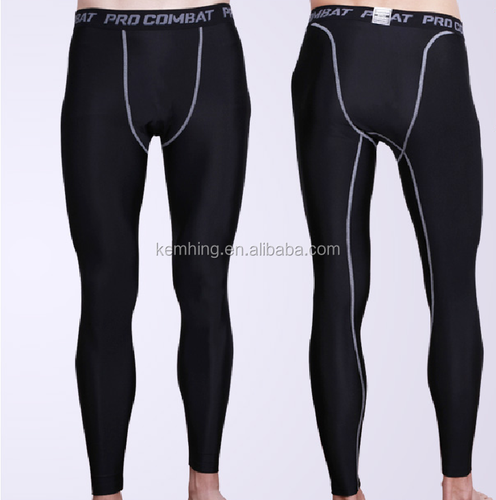 wholesale Pro Mens Bodybuilding sports compression pants mens leggings