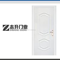 Vietnam carved surface design steel wooden interior cheap door