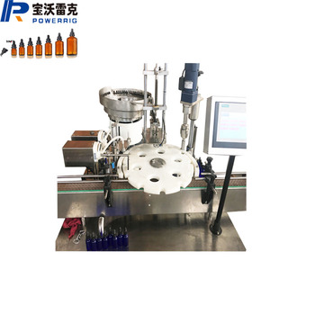 Stable running 30ml essential oil bottle filling capping machine line