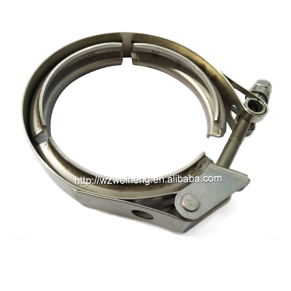"""New 2/"""" Inch Stainless Steel #304 V-Band V band Vband QUICK RELEASE Clamp"""