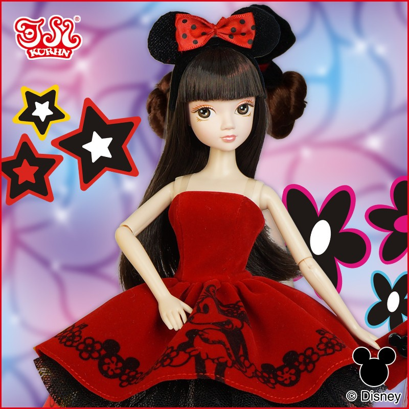 Hot sell Disney 90th anniversary plastic <strong>doll</strong>