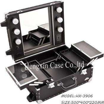 Small Makeup Case With Lightirror Mugeek Vidalondon