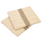 Factory Direct Disposable Wooden Ice Cream Stick Craft,Custom Popsicle Sticks