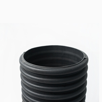 Hdpe Double Wall Corrugated Drainage Pipe Polyethylene Pipe