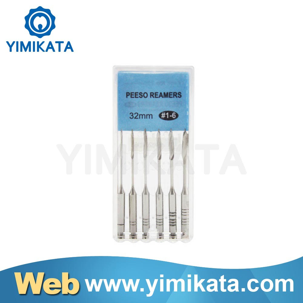 Oral endodontic Pesso Reamers 28/32mm mtwo niti files