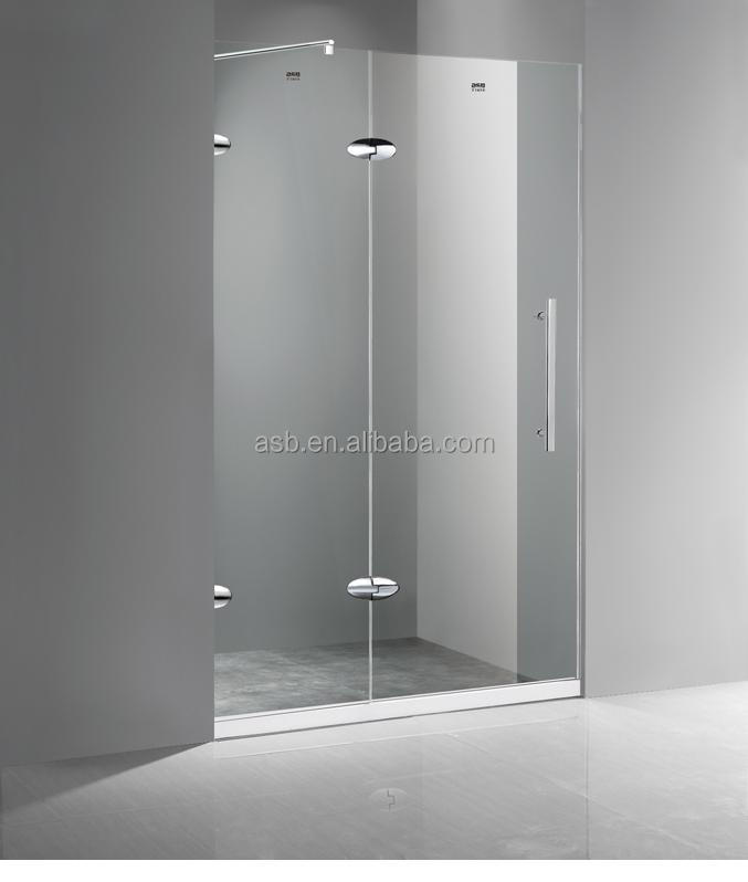import frameless shower 10mm Tempered Glass accesories bath screens