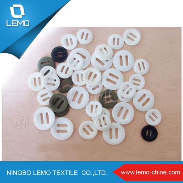 Long Hole Double Slot Resin Buttons