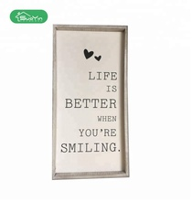 Wholesale Wooden Decorative Wall Hanging Plaque