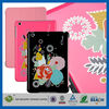 C&T 2014 Glitter rose printing for ipad mini pu leather case