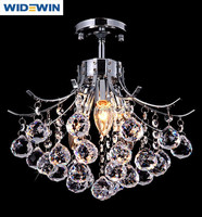 Crystal Flower Shape Chandelier Ceiling Lamp/K9 crystal ball/two size