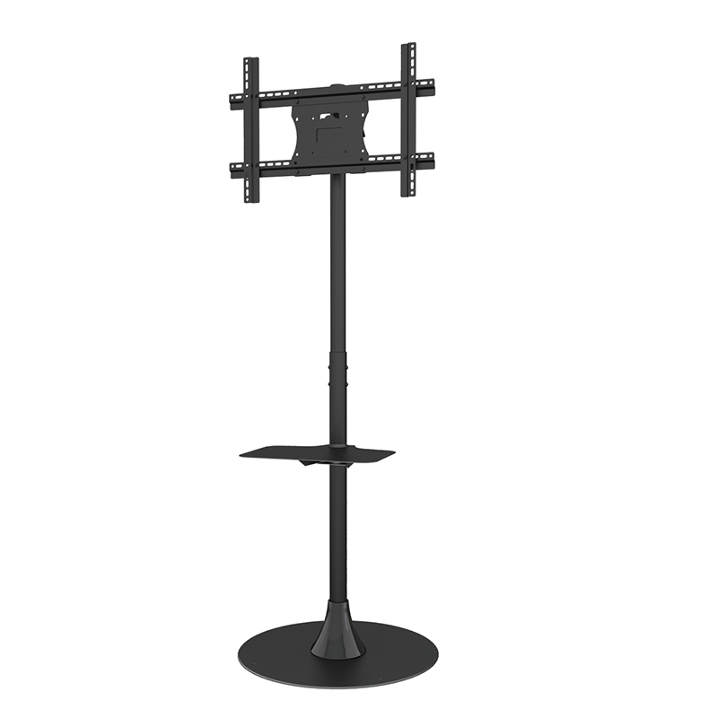 Economical Adjustable Floor LCD LED TV <strong>Stand</strong> For 32 To 65 Inch Screens
