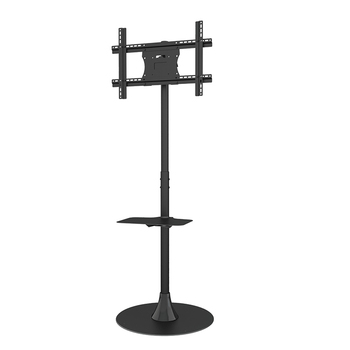 Economical Adjustable Floor LCD LED TV Stand For 32 To 65 Inch Screens