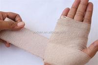 Medical Rubber Elastic Bandage,spandex crepe bandage