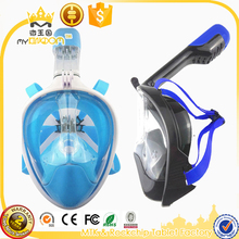 Wide View Anti-fogging Diving Mask with Gopro Camera Mount Easybreath Full Face Snorkeling Set