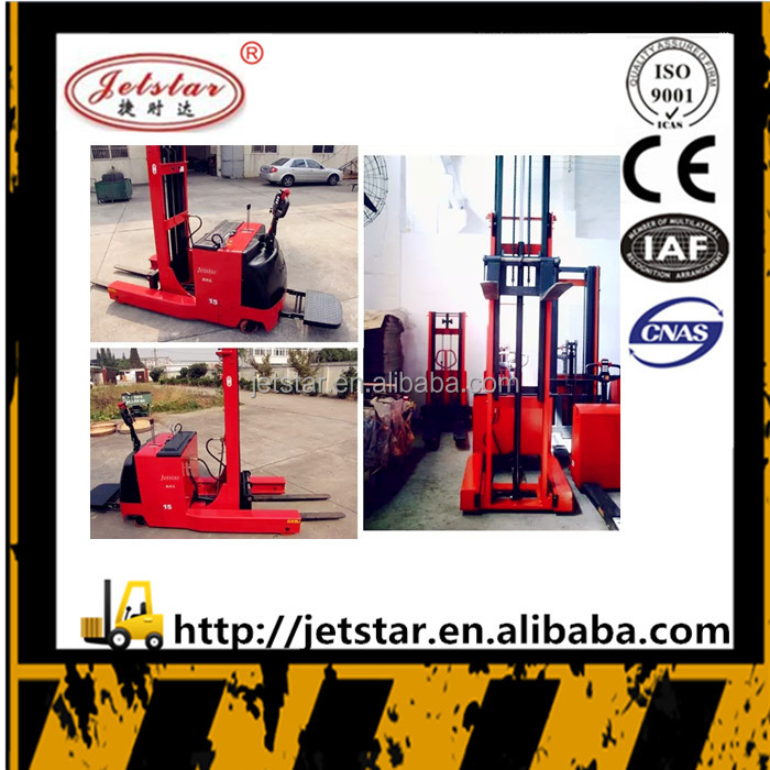 China ecnonmic 4.5m Electric pallet container fork lift Reach stacker
