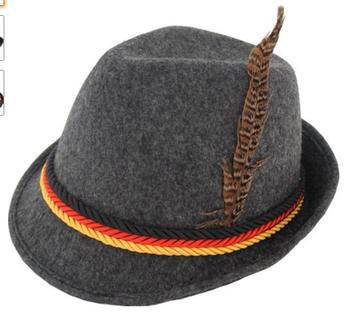 9bff51a7023e5 Diseño Lindo De Baviera Alemán Sombrero Oktoberfest Sombrero De ...