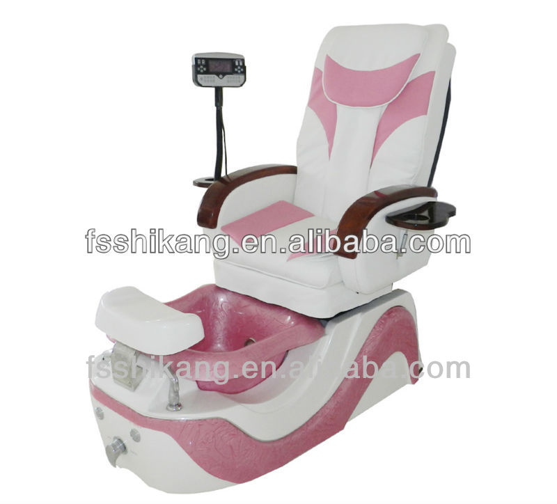 pink color modern design wholesale t4 spa pedicure chairs