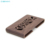 2019 Fashion Patterns Wood Hollow Out Desktop ID Business Card Case