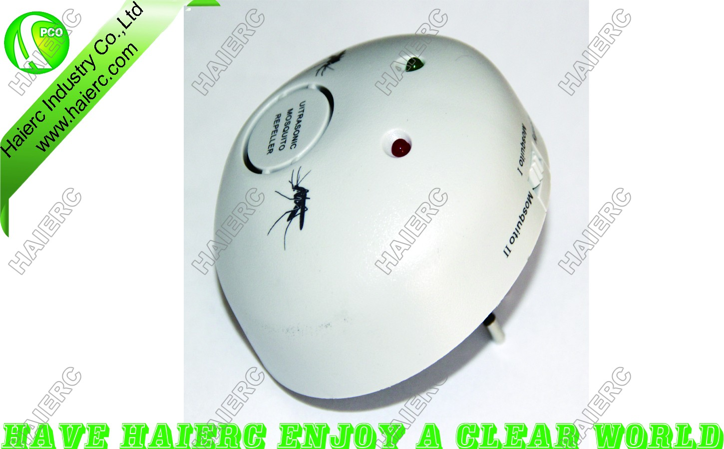 Haierc Ultrasonic Repeller/Electronic Pest Expeller /Insect Control HC2810