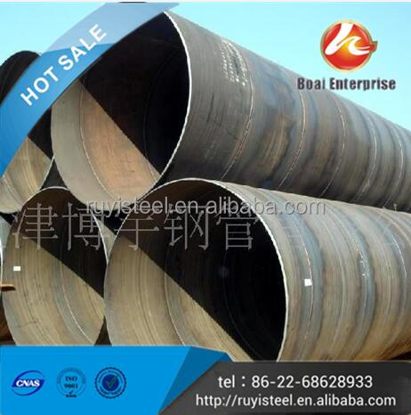 Best sale EN10219-1/2 SSAW 72 inch pipe for pressure purposes-technical delivery conditions
