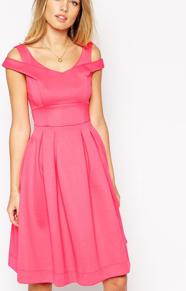 goedkope roze jurk