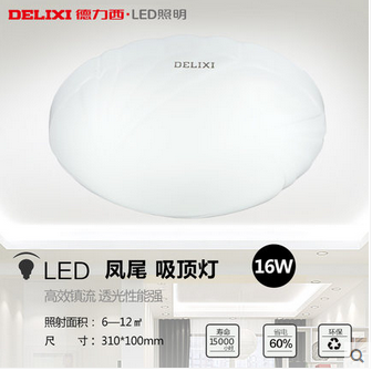 Long lifetime 8w 16w 28w indoor ceiling led lamp