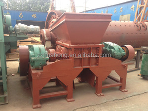 1200 Tire Shredder--waste truck tire crusher / recycling plant