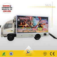 5d cinema films /Mobile 5d cinema equipment / trucks 5d simulator