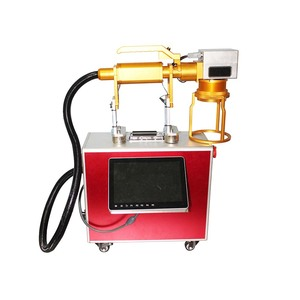 Portable fiber laser marking machine conveyor fiber laser marking card compact laser marking