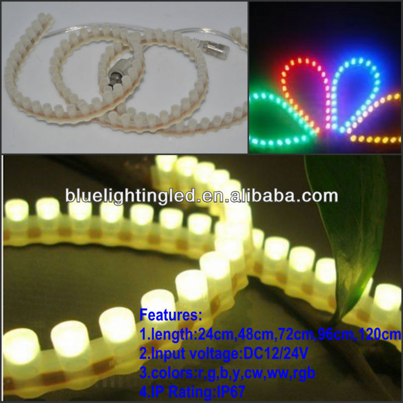 HIGH brightness waterproof great wall flexible led strips