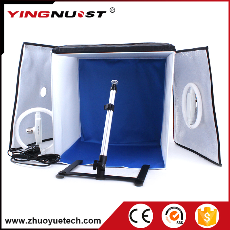 40*40cm Ring LED Photo Studio Softbox Shooting Light Tent Soft Box Portrait Photography