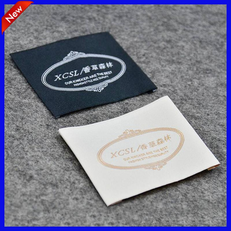 China Quality Clothes Labels Custom Logo Woven