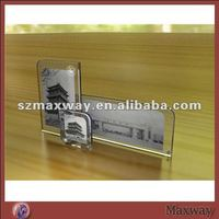 Promotional combined plexiglass showing photo frame sets