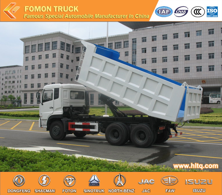 Factory Direct Hot Sale DONGFENG 6X4 375hp stone dumper truck